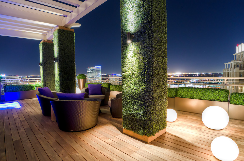 Outdoor Spotlights Deck Contemporary with Arbor Boxwood Columns Dallas Globes Ipe Led Lighting Outdoor Furniture Outdoor Lighting