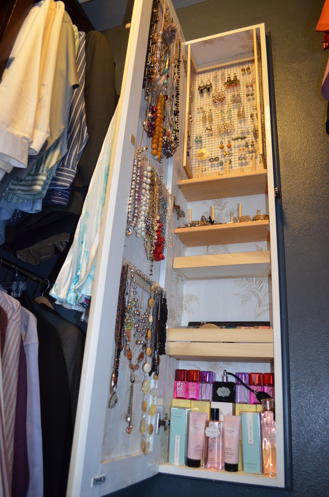 Over the Door Jewelry Armoire Closet Eclectic with Between Studs Storage Hidden Storage Jewelry Armoire Jewelry Cabinet Master Closet Small