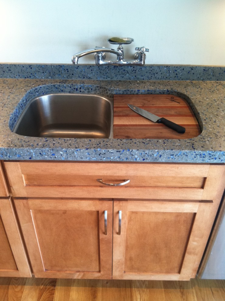 Over the Sink Cutting Board Kitchen Contemporary with Categorykitchenstylecontemporarylocationraleigh