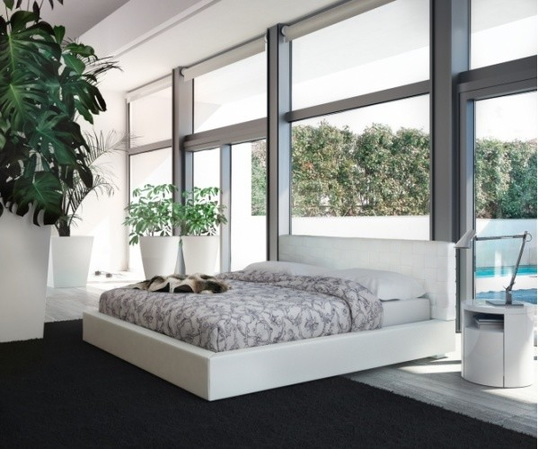 Oversized Bean Bags Bedroom Contemporary with Contemporary Bed Madison Bed Modern Bed Modloft Rove Concepts