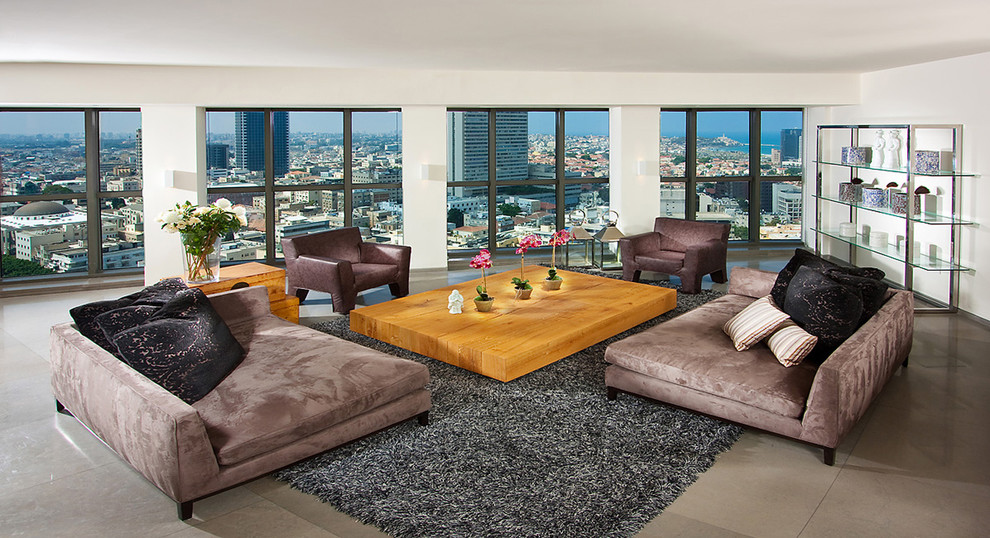 Oversized Sofa Living Room Contemporary with Chrome City View Corner Daybeds Deep Sofa Glass Bookshelves Large Sofa Large