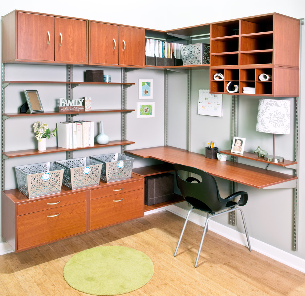 paper sorter Home Office Contemporary with black chair green rug how to organize a room ideas for organizing