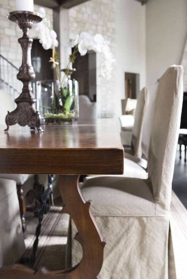 Parsons Chair Slipcovers Dining Room Transitional With Botanicals Dining  Table Parson Chair Slipcovers 1