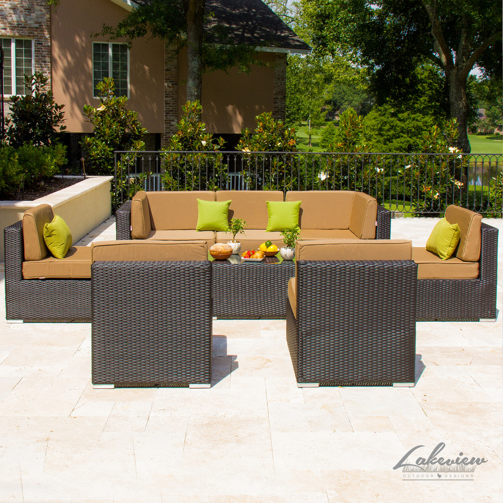 Patio Conversation Sets Patio Modern with Outdoor Club Chairs Outdoor Coffee Tables Outdoor Daybed Outdoor Deep Seating Outdoor