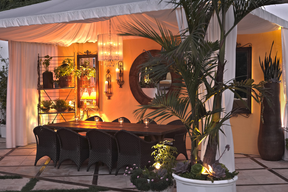 patio-tents-Patio-Eclectic-with-candle-holders-covered-patio -grasses-mirrors-outdoor-dining-outdoor-furniture-outdoor-lighting & patio-tents-Patio-Eclectic-with-candle-holders-covered-patio ...
