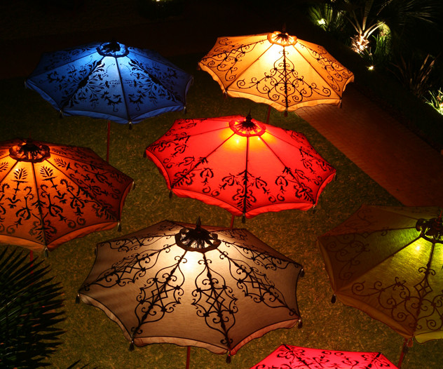 patio umbrella lights Patio Traditional with custom patio umbrellas decorative patio umbrellas desert garden Hedge Row hedgerow lawn