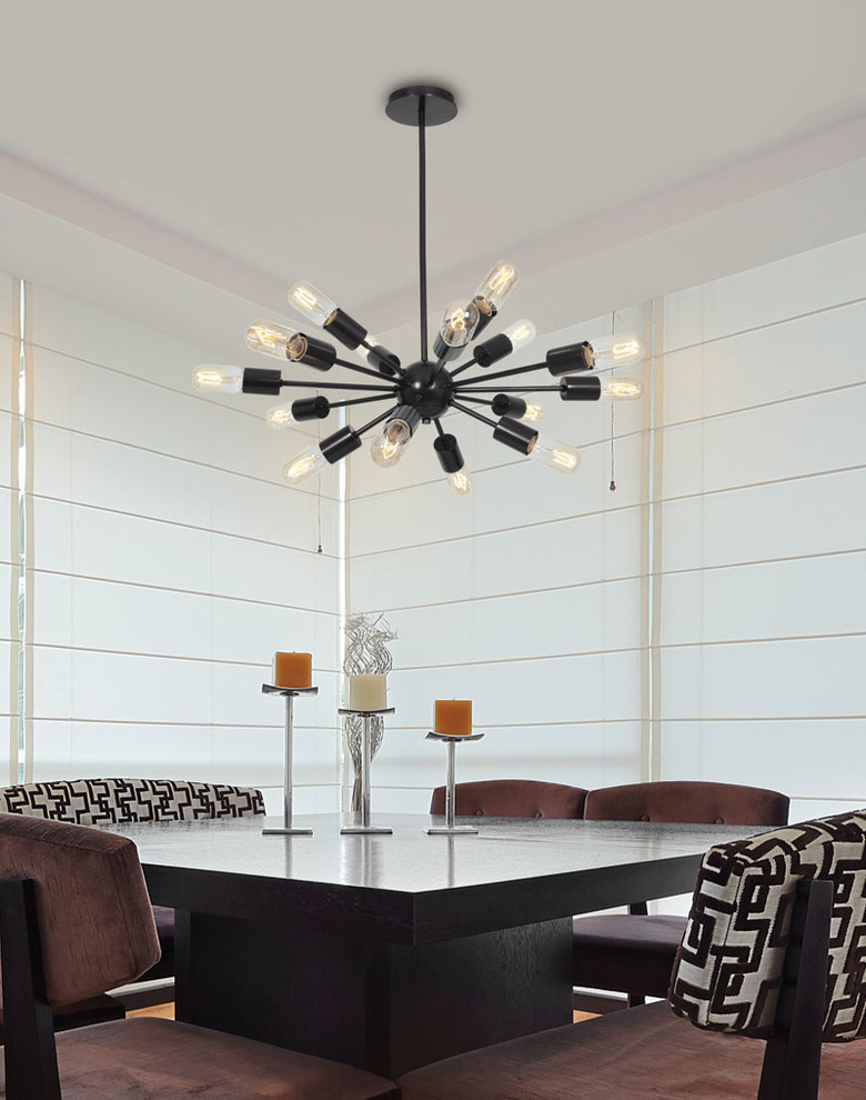 Patterned Sheets Dining Room Contemporary with None