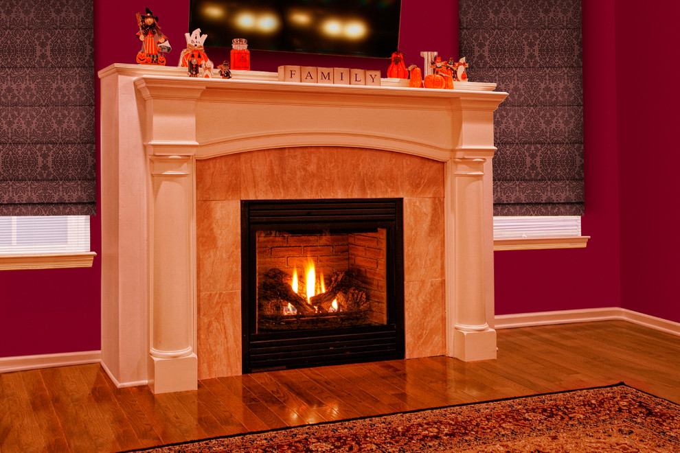 Pearl Mantels Spaces with Classic Mantel Gas Fireplace Pearl Mantel Wood Mantel 3