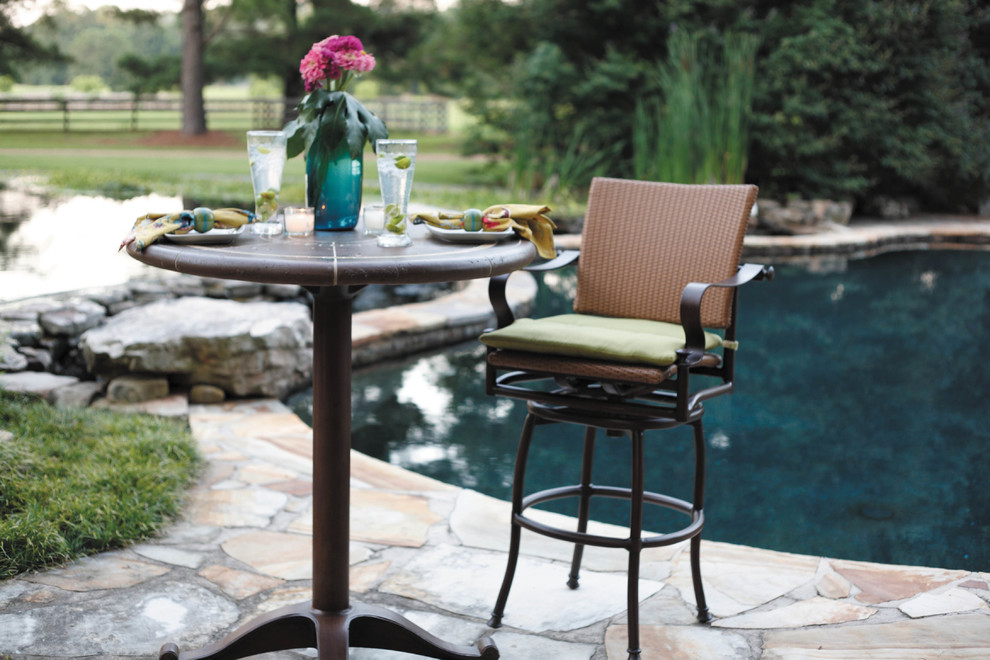 Pedestal Table Base Pool Traditional with Outdoor Bar Stool Outdoor Furniture Outdoor Patio Furniture Patio Furniture Patio Furniture