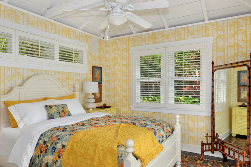 Pine Cone Hill Bedding Bedroom Tropical with Airy Bamboo Mirror Beach Cottage Bedding Bedroom Calm Costal Cottage Cottage Cozy
