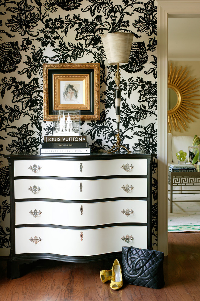 Pine Dresser Entry Traditional with None