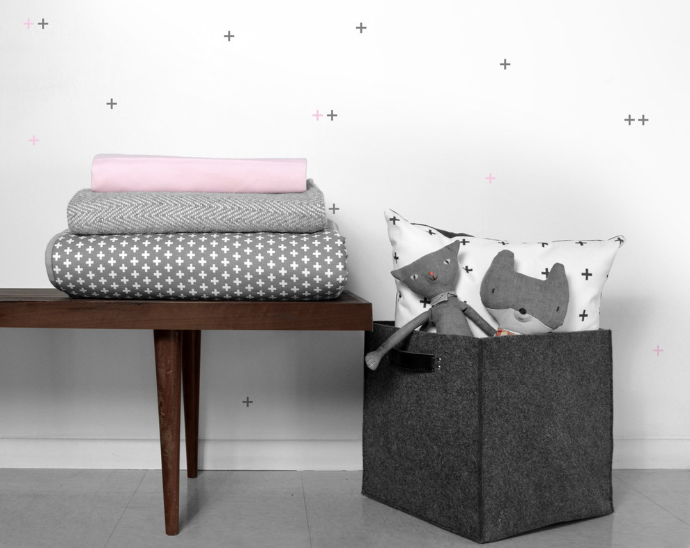 Pink and Gray Crib Bedding Spaces with Gray Crib Bedding Modern Baby Bedding Modern Crib Bedding Modern Girls Baby
