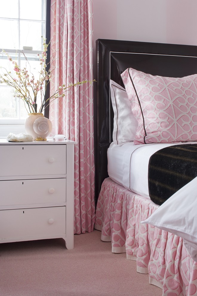 Pink Camo Bedding Kids Traditional with Banded Bedskirt Bed Skirt Brown Chocolate Patent Leather Contrast Welt Custom Bedding