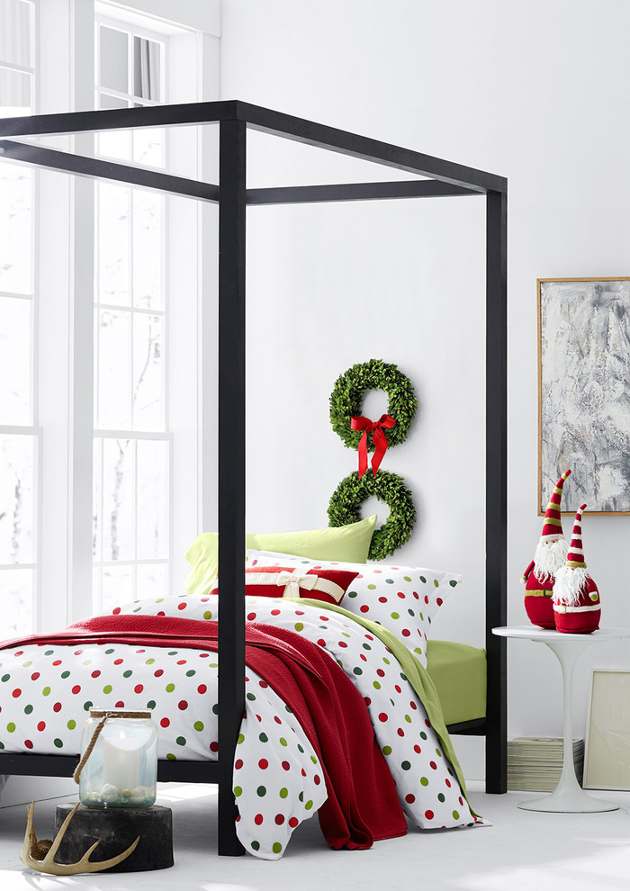 Polka Dot Sheets Spaces Eclectic with Christmas Bedding Cotton Flannel Sheets Flannel Bedding Flannel Sheets Garnet Hill Bedding