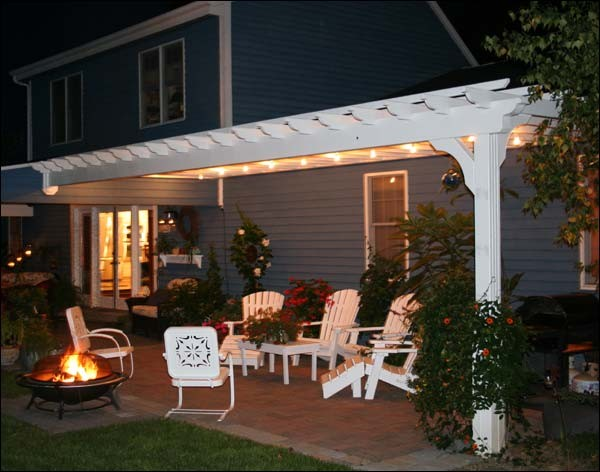 polywood adirondack chairs Porch Contemporary with custom muskoka chairs outdoor living outdoor space pergola