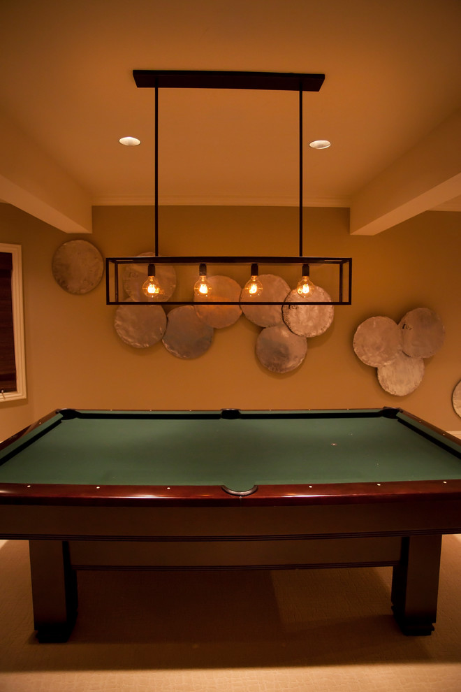Pool Table Light Fixture Basement Eclectic with Iron Pool Table Light Pool Table Silver Wall Discs Wall Decor