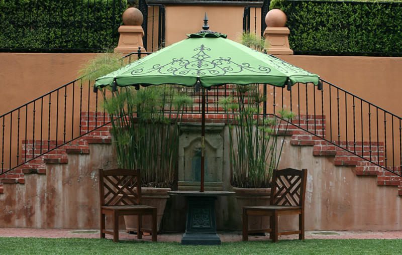 Porch Swing Cushions Porch with Custom Patio Umbrellas Decorative Patio Umbrellas Desert Garden Hedge Row Hedgerow Lawn