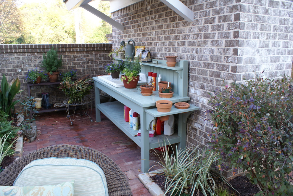 Potters Bench Patio Traditional with Categorypatiostyletraditionallocationatlanta