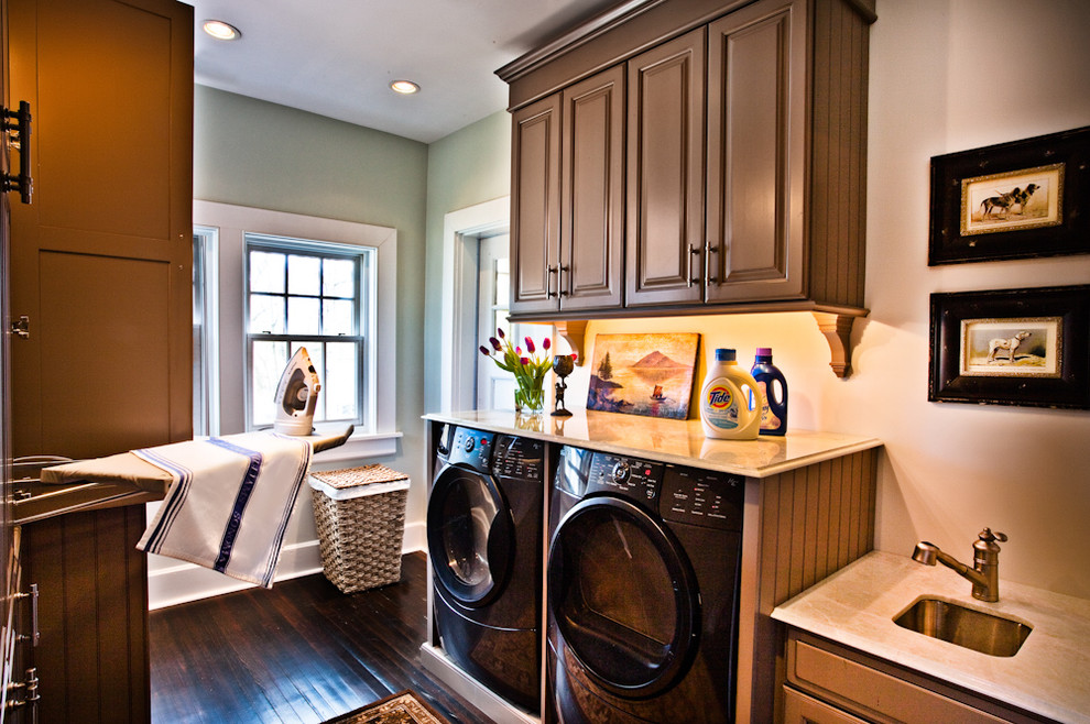 Pressure Washer Attachments Laundry Room Traditional with Artwork Beadboard Cabinets Built in Ironing Board Built in Storage Ceiling Lighting