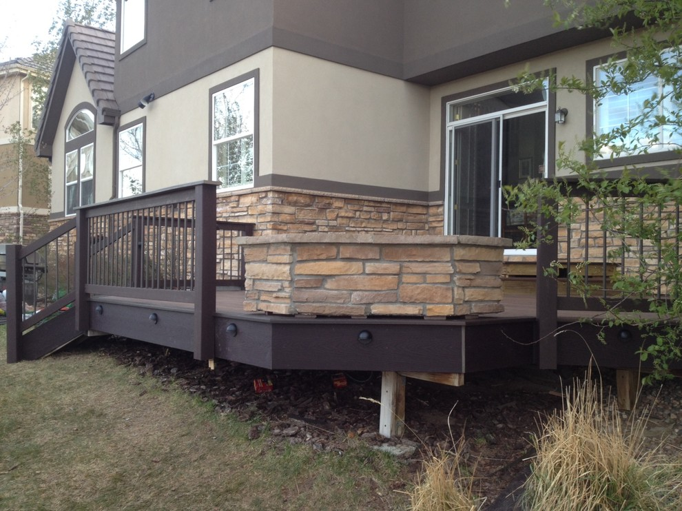 Propane Gas Fire Pit Deck Traditional with Custom Gas Fire Pit Deck with Gas Fire Pit Eldorado Stone Fire1