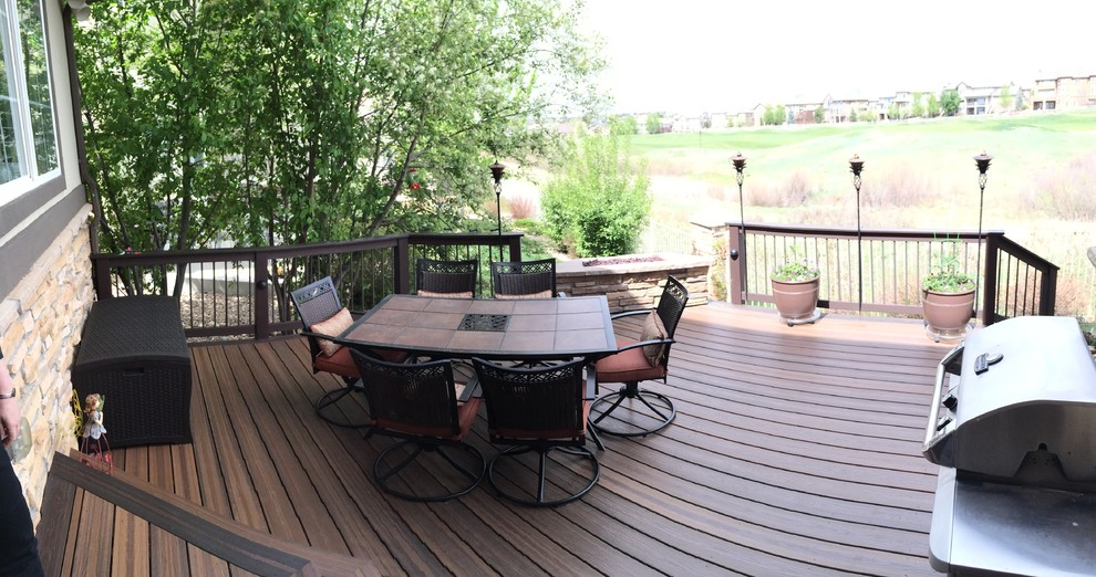 Propane Gas Fire Pit Deck Traditional with Custom Gas Fire Pit Deck with Gas Fire Pit Eldorado Stone Fire3