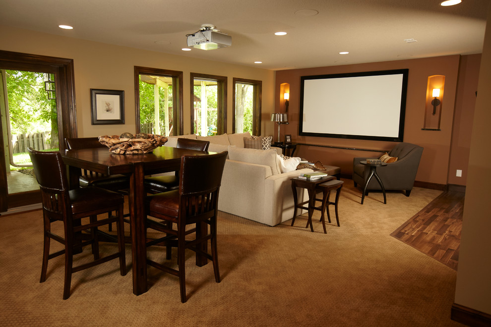 Pub Tables and Chairs Basement Traditional with Fusion Designs Martha Ohara Interiors Schrader Companies