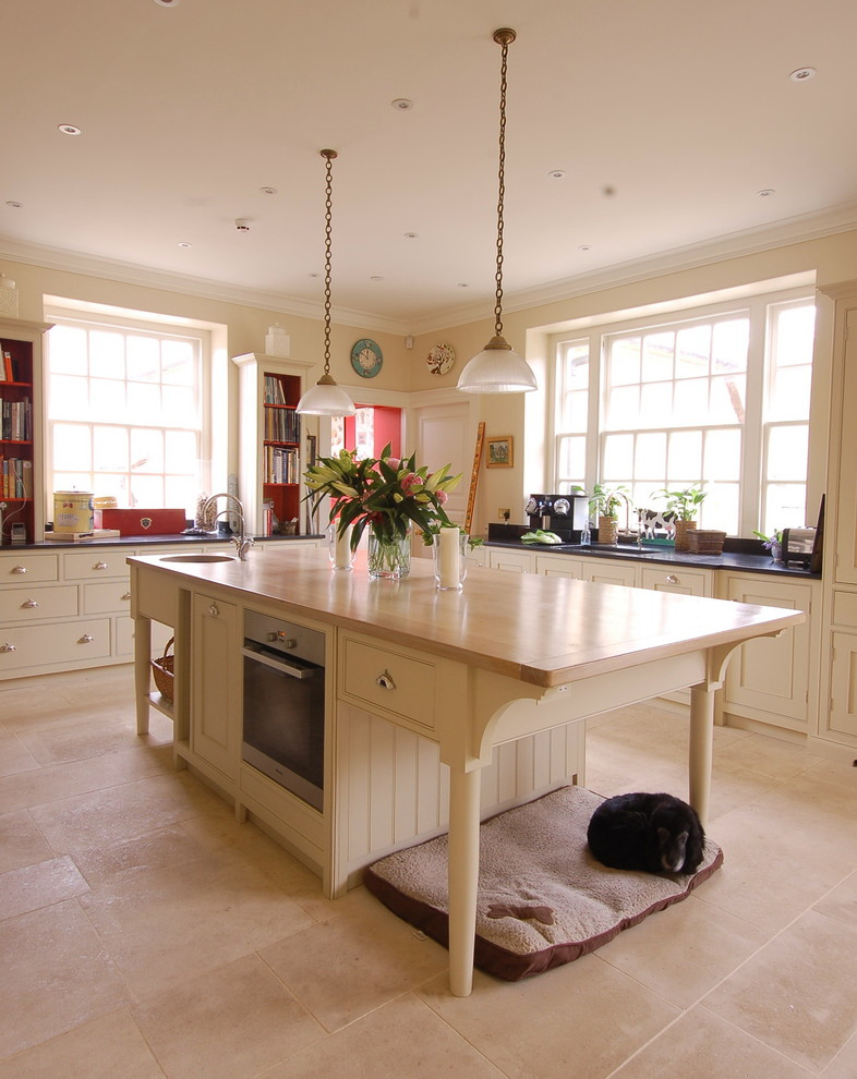 Puppy Beds Kitchen Farmhouse with Cookbooks Country Kitchen Cream Colored Kitchen Cabinets Cream Kitchen Dog Bed Dog