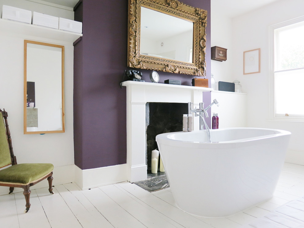 Purple Chevron Bedding Bathroom Victorian with Bathroom Fireplace Bathroom Window Bathtub Fireplace Freestanding Bathtub Freestanding Tub Gilt Frame