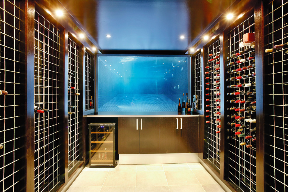 Qca Spas Wine Cellar Contemporary With Backyard  Pool Landscape Outdoor Entertaining Outdoor Living Pool Pool Window Spa Transparent