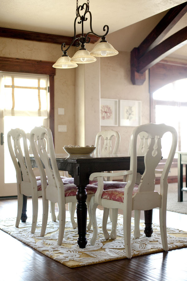 Queen Anne Chair Dining Room Contemporary with None