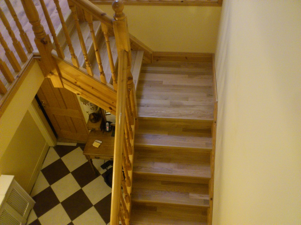 Quick Step Flooring Staircase Contemporary with Quick Step Flooring