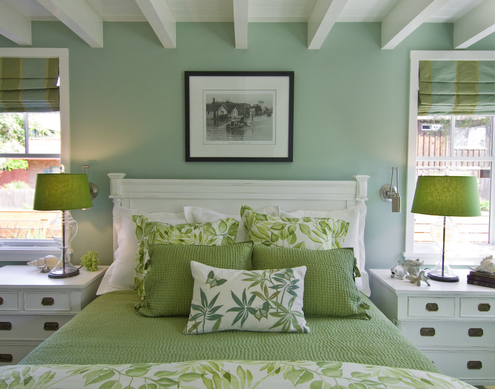 Quilted Bedspreads Bedroom Beach with Architects and Designers Beams Botanical Cabinet Makers Dressers Fabric Selection Floral Furniture