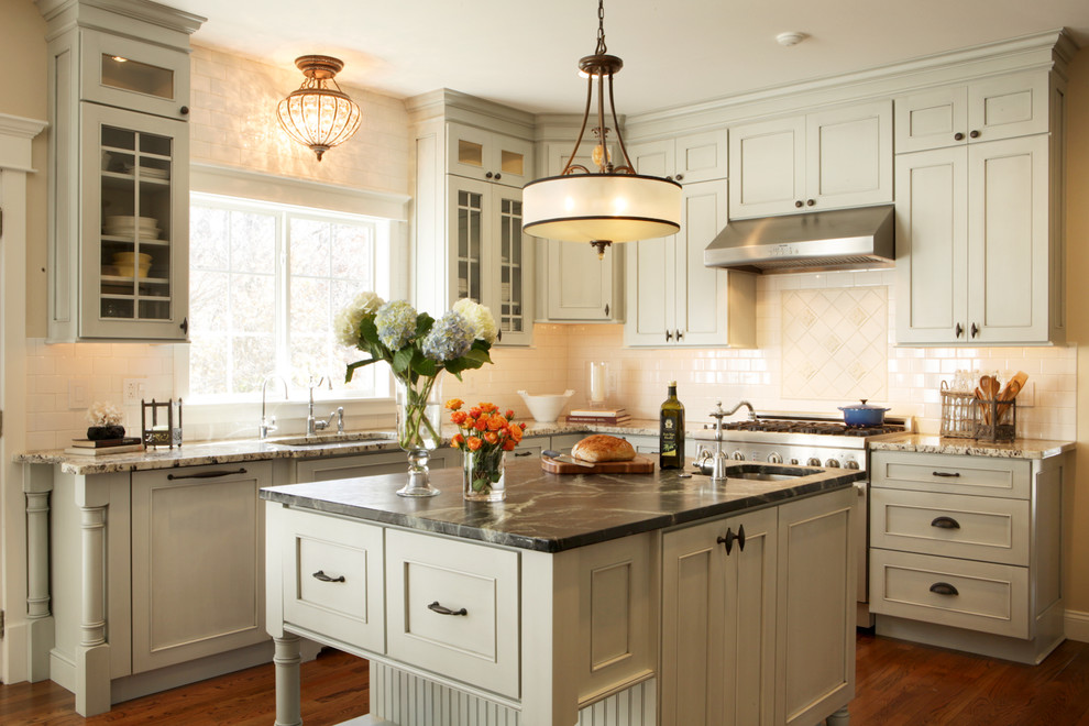 Quoizel Kitchen Traditional with Beachfront Bead Board Beaded Board Beautiful Kitchens Better Homes Better Homes Gardens