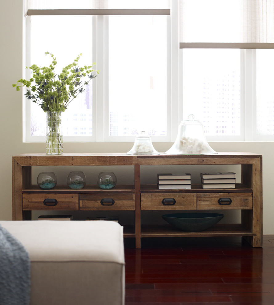 reclaimed wood tv stand Home Theater Modern with console entertainment media stand plasma reclaimed wood tv stand