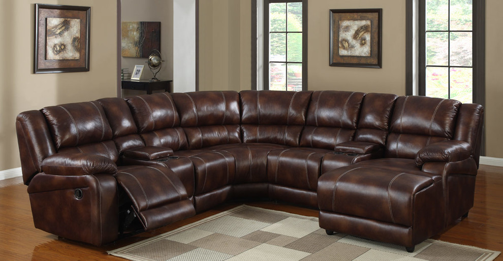 Reclining Sectional Living Room Contemporary with Chaise Recliner Homelegance Homelegance Sectional Sofa Recliner Homelement Homelement Sectional Sofa Recliner