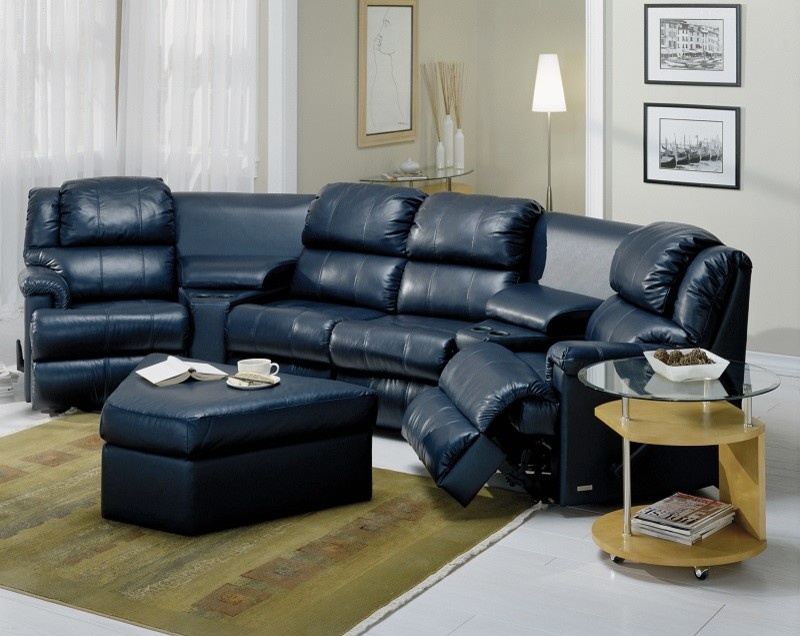 Reclining Sectional Sofas Home Theater Transitional with Black Leather Recliner Custom Leather Furniture Home Theater Leather Furniture Home Theater1