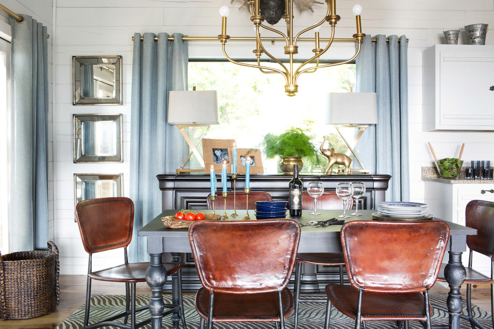 Reed and Barton Silverware Dining Room Eclectic with Brian Patrick Flynn Dining Room Formal Dining Mountain Mountain Home Tablescape 2