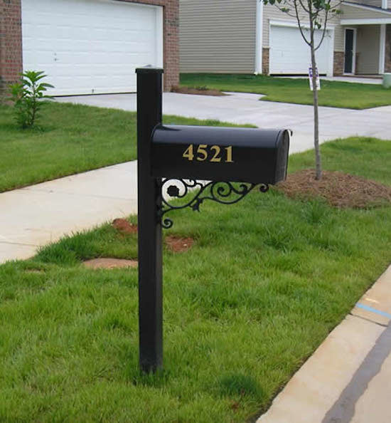 residential mailboxes Exterior with black mailboxes decorative mailboxes mailboxes Residential Mailboxes traditional mailboxes