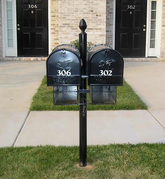 Residential Mailboxes Exterior with Black Mailboxes Decorative Mailboxes Mailboxes Residential Mailboxes Traditional Mailboxes 1