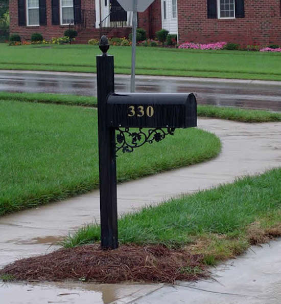 Residential Mailboxes Exterior with Black Mailboxes Decorative Mailboxes Mailboxes Residential Mailboxes Traditional Mailboxes 2