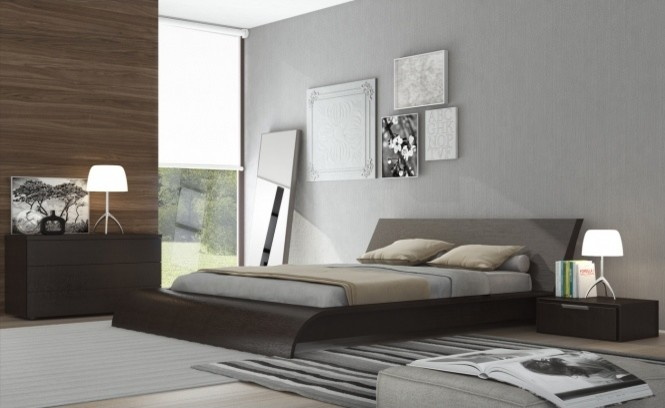 Rocker Glider Spaces Contemporary with Contemporary Bed Modern Bed Modloft Rove Concepts Waverly Bed
