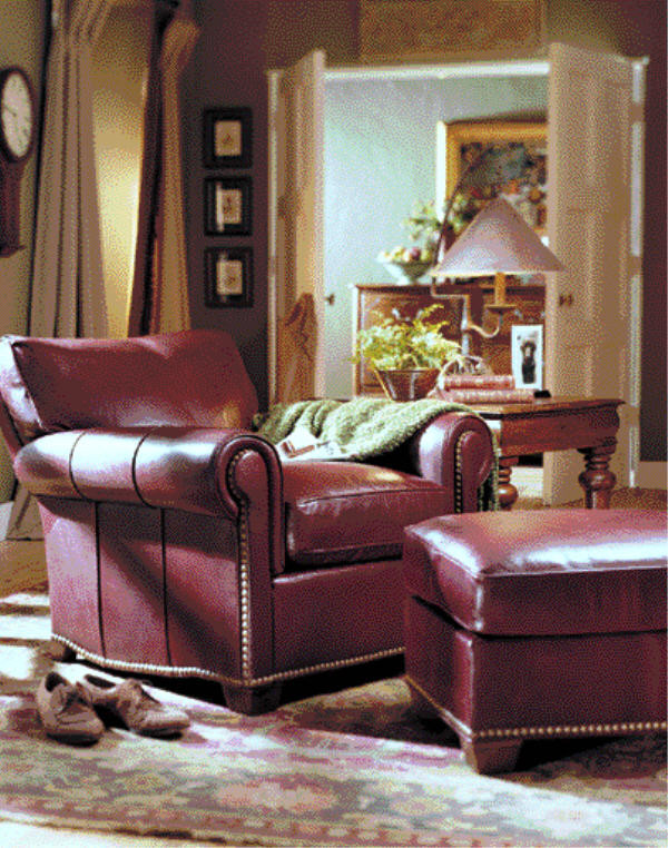 Rocker Recliner Living Room Traditional with Accent Chair Chaise Lounger Custom Leather Furniture Home Theatre Seating Leather Leather
