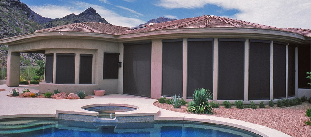 Roll Up Blinds Pool Contemporary With Insect Shades Outdoor Shades Outdoor  Sun Shades Patio Shades Printed