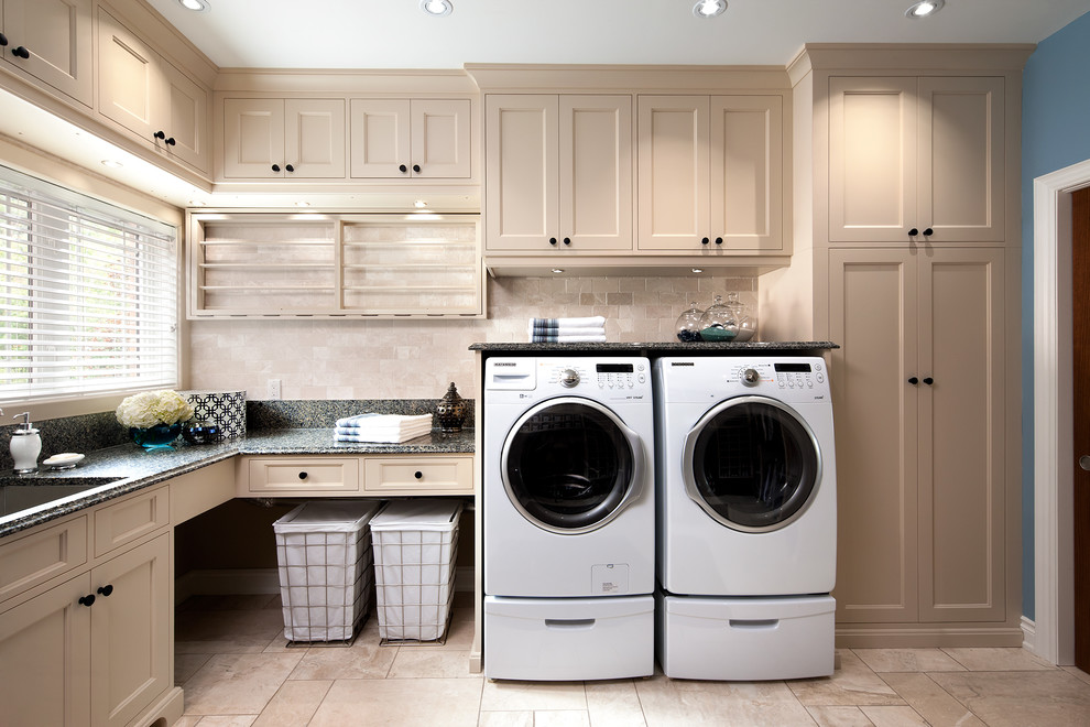 Rolling Laundry Basket Laundry Room Traditional with Built in Storage Cabinets Drawers Drying Rack Hampers Laundry Room Appliances Recessed Lighting