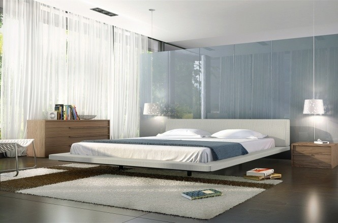 Rolling Stool Bedroom Contemporary with Contemporary Bed Jane Bed Modern Bed Modloft Rove Concepts