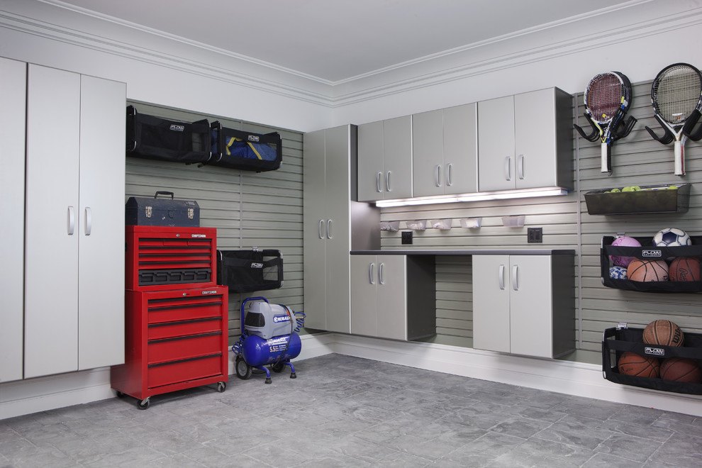Rolling Tool Boxes Garage and Shed Contemporary with Cabinetry Cabinets Garage Home Hook Hooks Organization Organize Shed Shelf Shelves Shelving