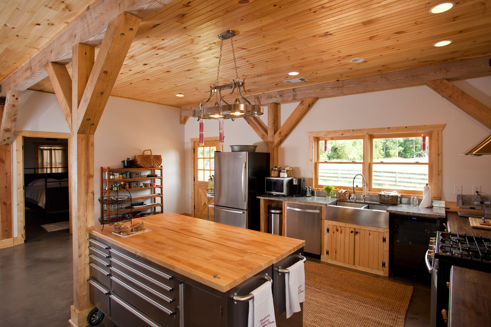Rolling Tool Boxes Kitchen Contemporary with Barn Barn Conversion Barn Home Barn House Barn Living Barn Living Space