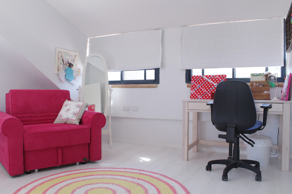 round braided rugs Home Office Eclectic with black office chair convertible chair floor length mirror pull-out armchair red chair