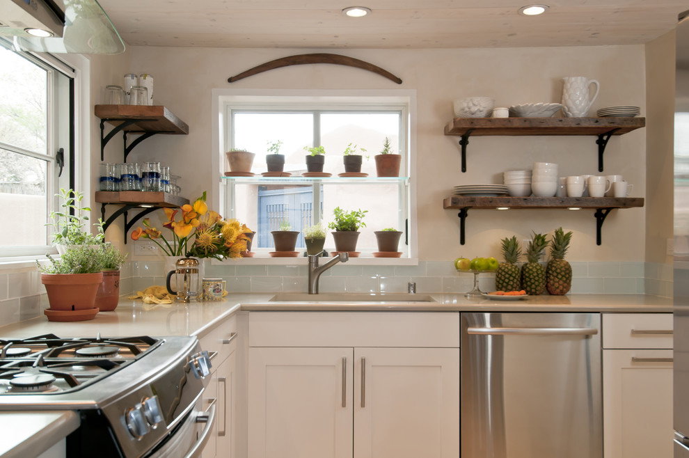 Rubbermaid Wire Shelving Kitchen Traditional with a Santa Fe Kitchen Design with Frame and Hood New Mexico Open