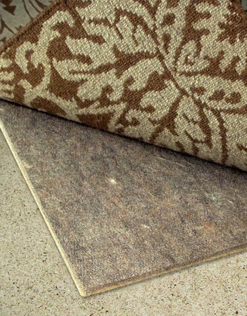 Rug Pads Spaces with Concrete Felt Floor Hardwood Laminate Made in Usa Marble No Chemicals No